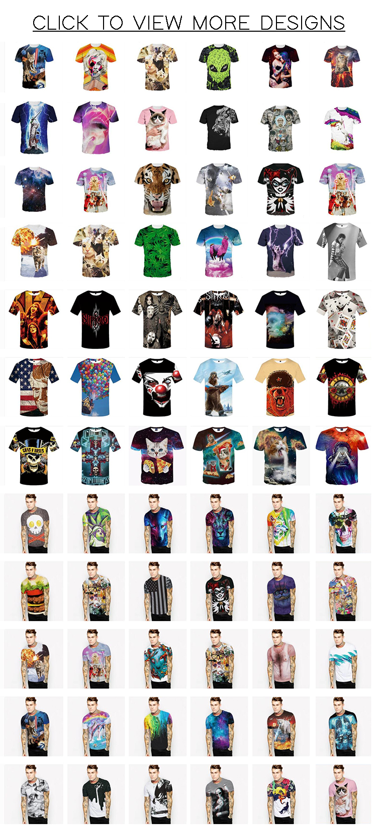 Custom Design Your Own Sublimation Print T Shirts Blank Short Sleeve T-shirts