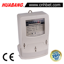 DDS228 single phase analog display electric meter long terminal