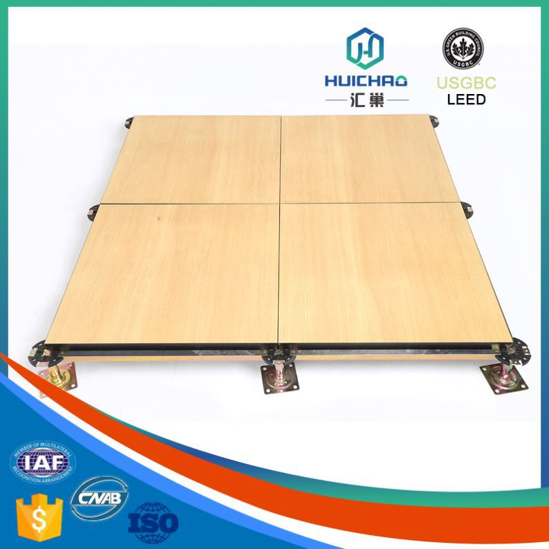 HC/C Cost effective aluminum honeycomb self adhesive plastic floor covering grills plastic raised floor system
