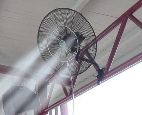 Diy Outdoor Cooling Misting Fan Buy Fan Misting