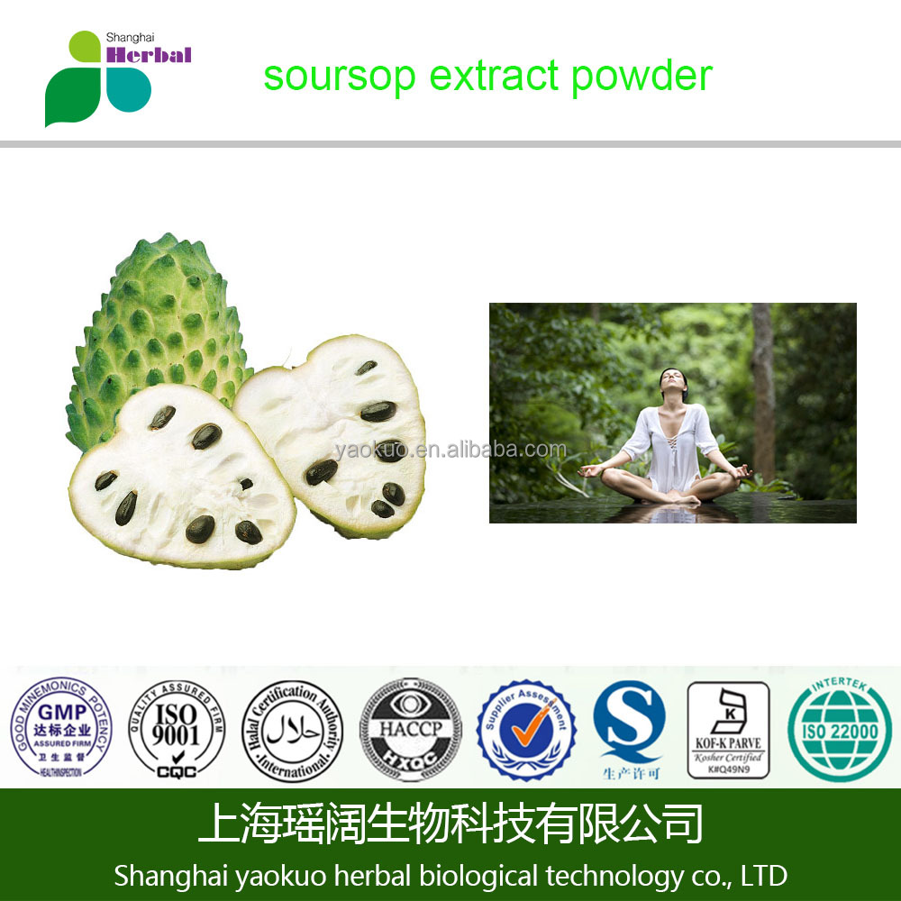 fresh soursop fruit extract powder