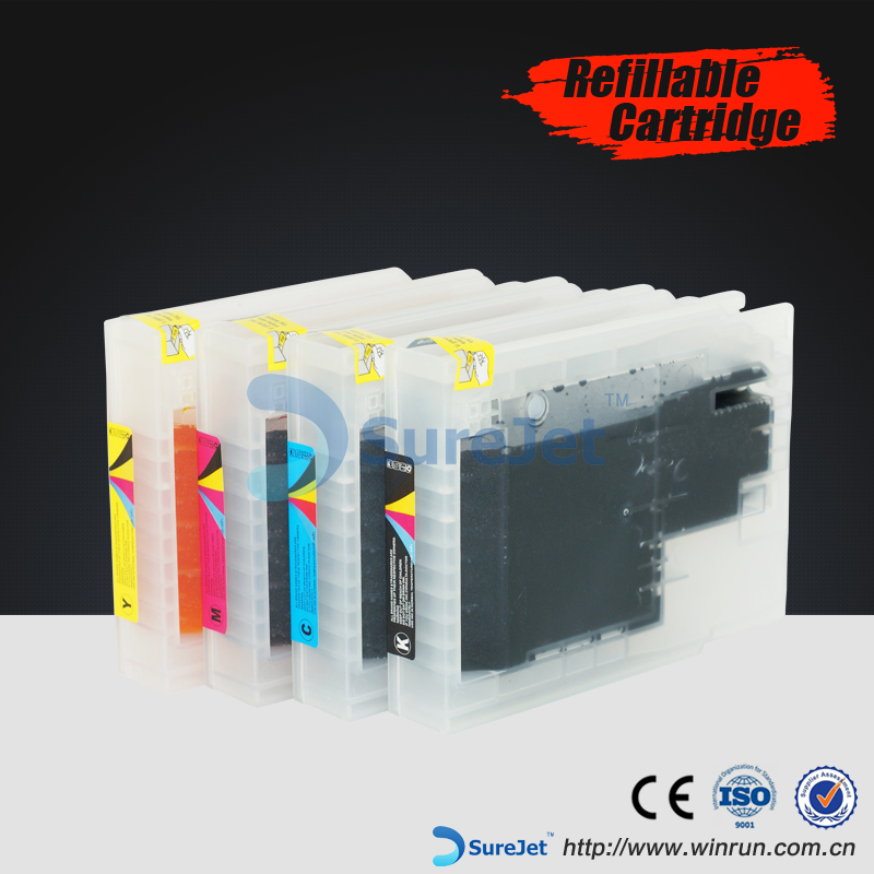 Ink cartridge T7551 refillable cartrigde for Epson WF8010DWF 8090DTW 8590 DWF