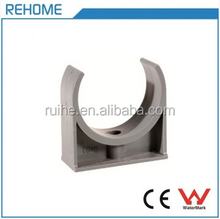 Low Price List PVC-U Round Pipe Fitting Plastic Powerful Saddle Clamp