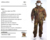 PTFE camo waterproof Army military uniforms For Intersex