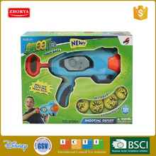 Hot selling kids plastic toys gun set shoot foam balls gun toys
