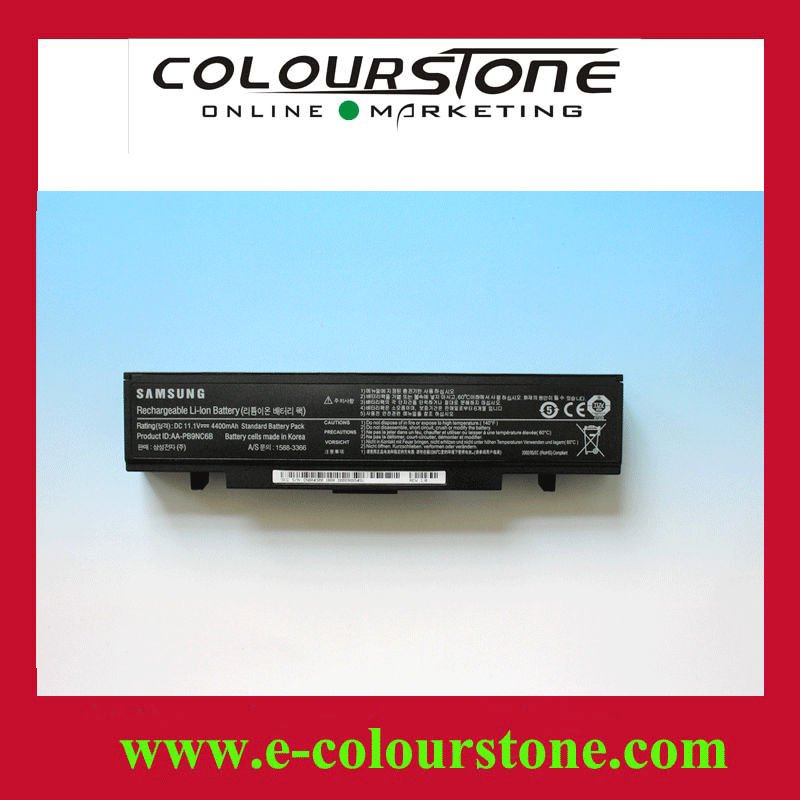 Brand new orginal Black color 6 cell Laptop battery for SAMSUNG Q318 Series AA-PB9NC6B R519 laptop battery