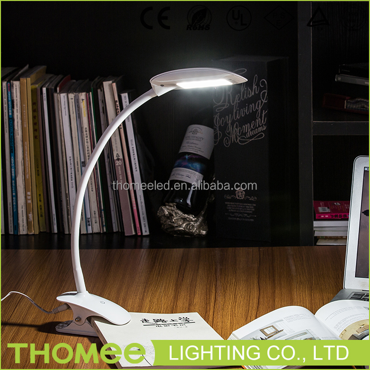 2016 new modern promotion logo portable small led reading lamp