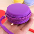 wholesale colorful silicone coin purse bag wallet bag
