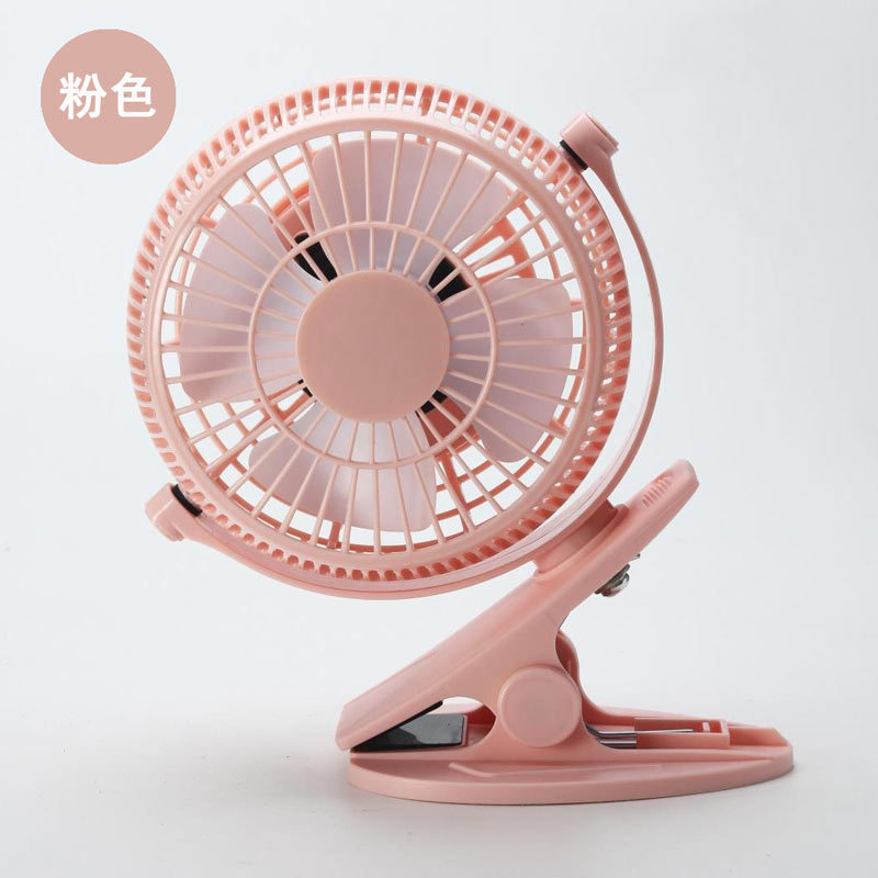 Plastic Stand Small Desk Fan,Portable Table USB Powered Mini Clip on Fan