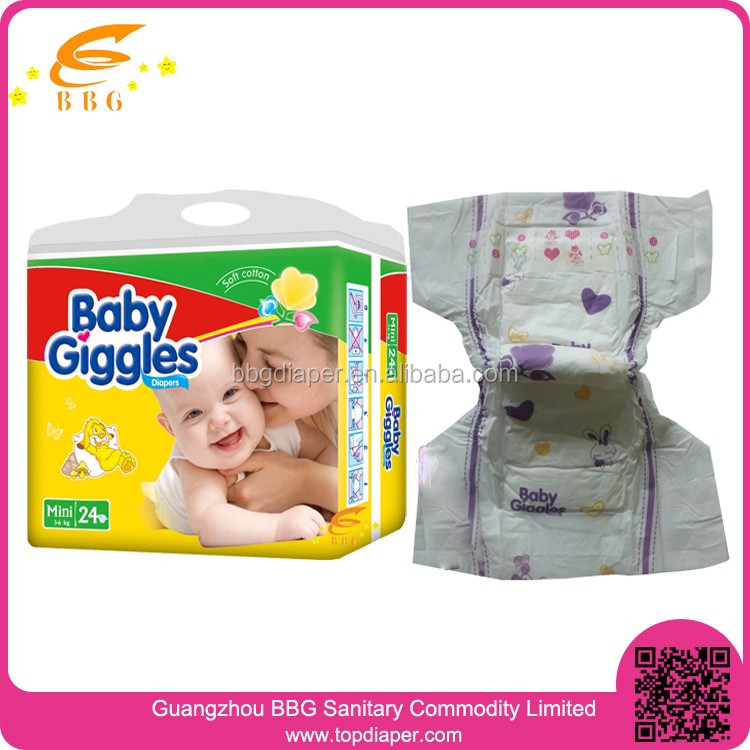 Best selling products baby adult diaper in nigeria Baby Giggles diapers in bulk