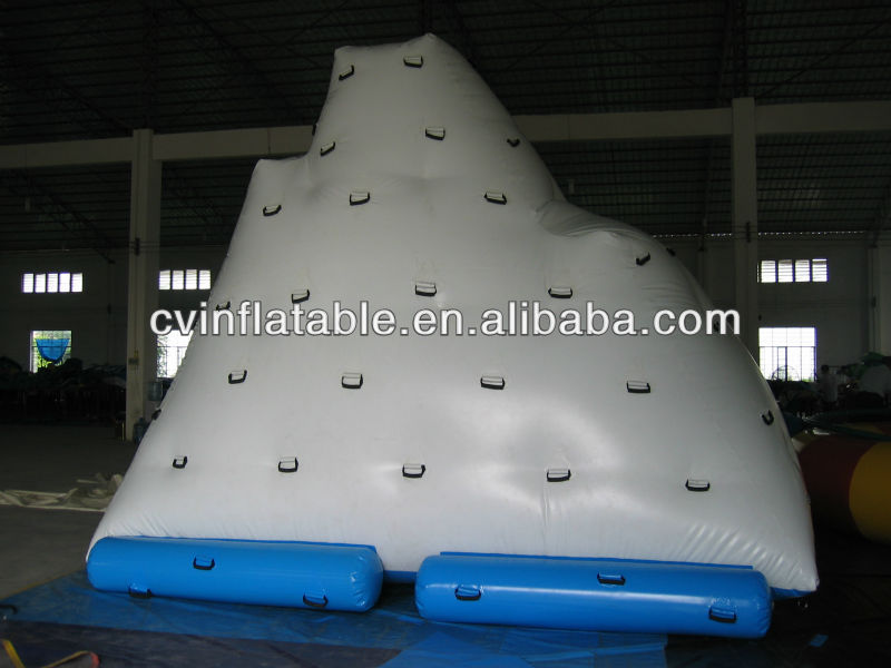 inflatable floating climbing