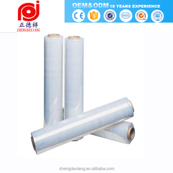 pc pallet stretch packing net wrap wrapper paint protection plastic packaging pvc cling film for water pouch for food wrap