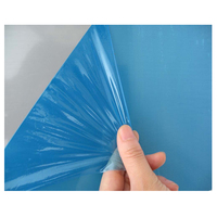 PE Surface Blue Max 3m Self Adhesive Carpet Floor Protection film