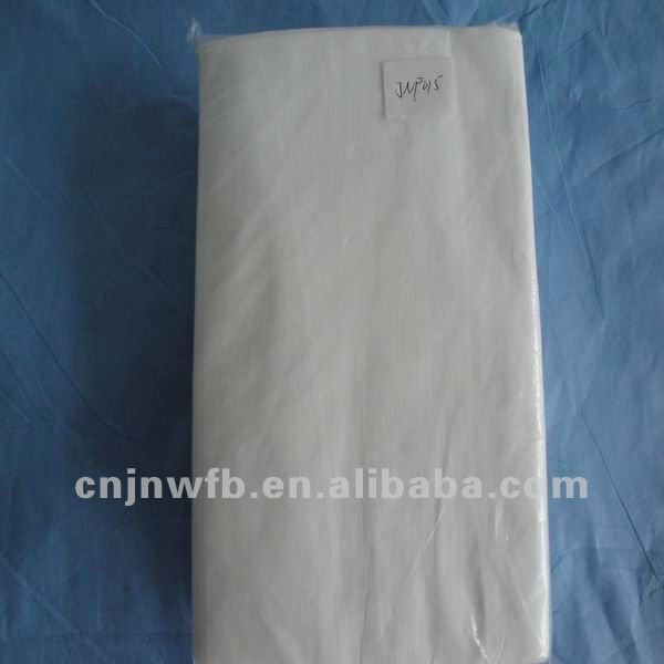 Disposable nonwoven wood pulp paper nonwoven