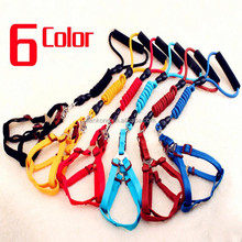 wholesale Dog leash retractable hands free hunting dog collar and leash