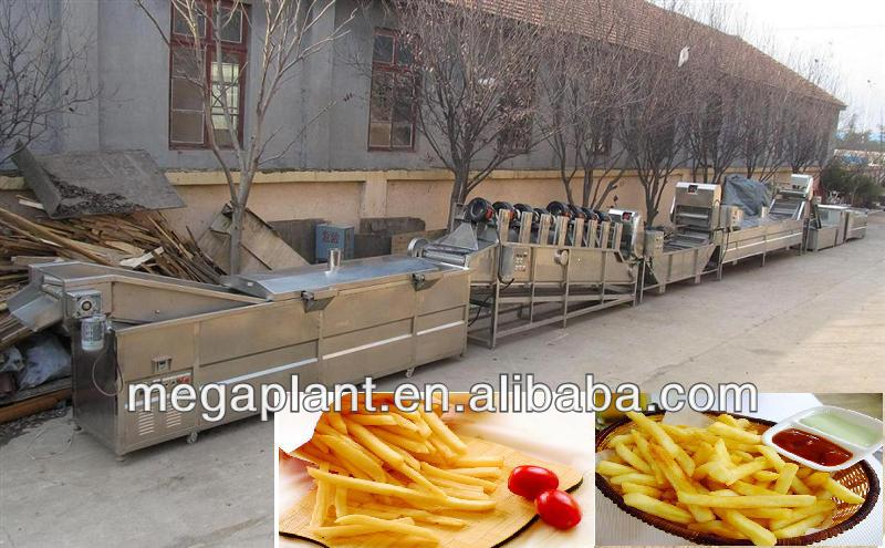 semi and full automatic french fries production line