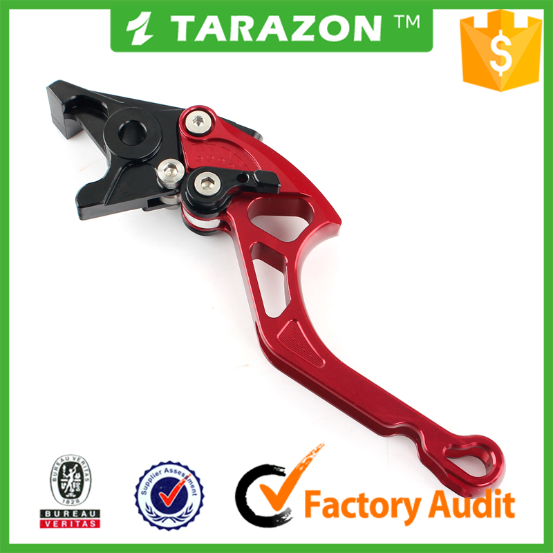 Motorcycle adjustable brake long straight lever for Bajaj pulsar