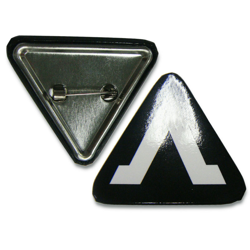 Triangle Blank Other Holiday Supplies Triangle Type Round pin button badge materials