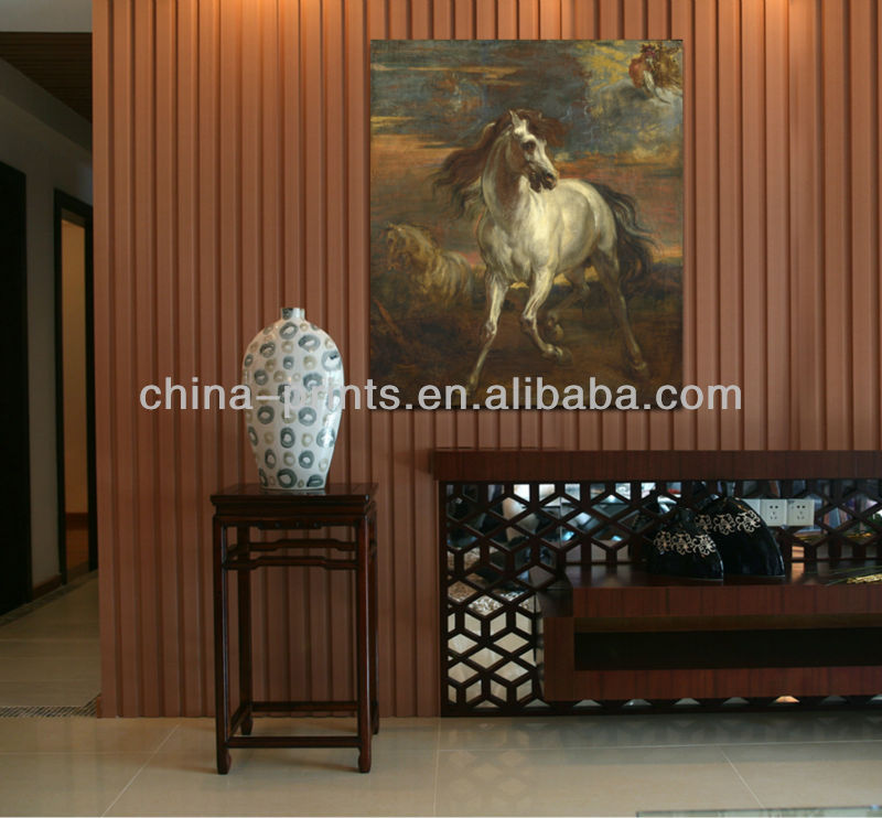 Modern Decorative Chinese Horse Painting Reproductions Home Decor