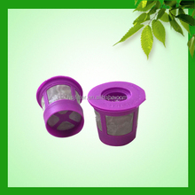 PP Plastic Type and FDA,SGS Certification K - Carafe Keurig 2.0 Plastic K Cup Coffee Filter