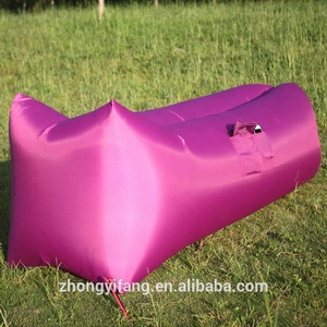 Best Selling Inflatable Air Lounger Hammock Bed Inflatable Sleeping bag Outdoor Air Sofa In Summer