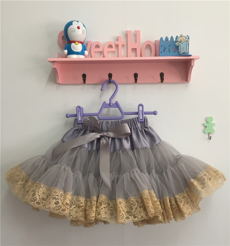 MOQ 1PCS Christmas Tutu skirts baby infant tutu skirt kids Butterfly Ruffle with lace Pettiskirt birthday princess skirts