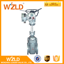 WZLD 1 1/2'' ASME B16.5 MSS SP44 Flanged Ends Medium Temperature Electric Gate Valve