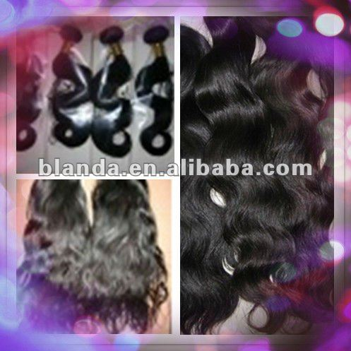Top grade brazilian virgin hair bulk milky way hair