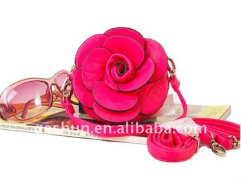 Rose Flower coin purses