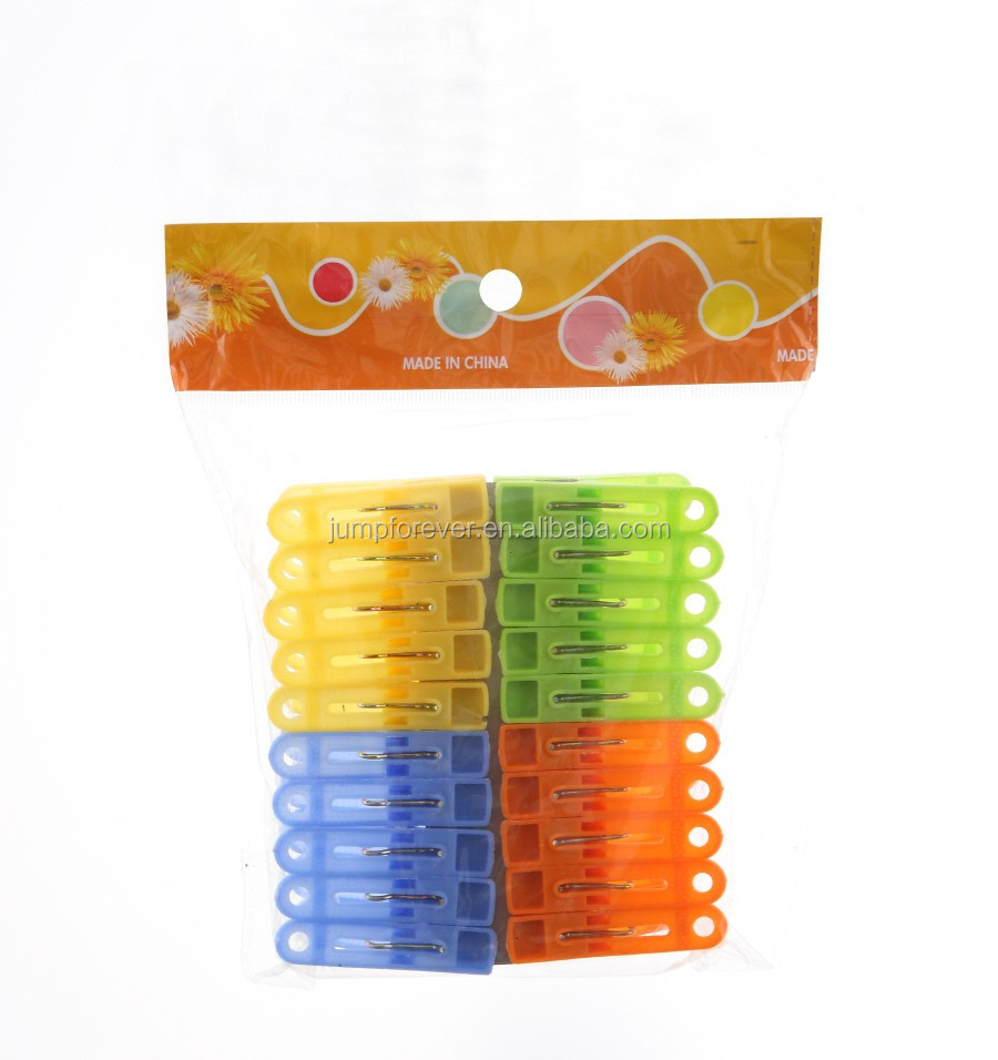 cheap Fashion design Plastic Clothes Clips/Pegs
