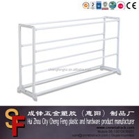 3 tier metal shoes rack