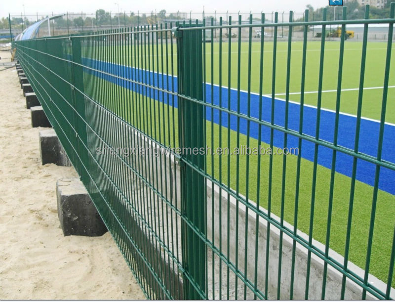 CE certificated galvanized and PVC coated Welded Wire Mesh Fence