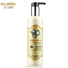 Rolanjona name brand morocco nut oil body lotion with nourishing and repairing
