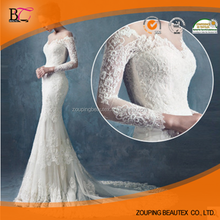 High-grade package buttocks cultivate one's morality lace trailing the bride wedding dress