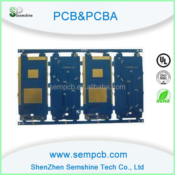 Shenzhen PCB Manufacture FR4 material single side television tv pcb with UL