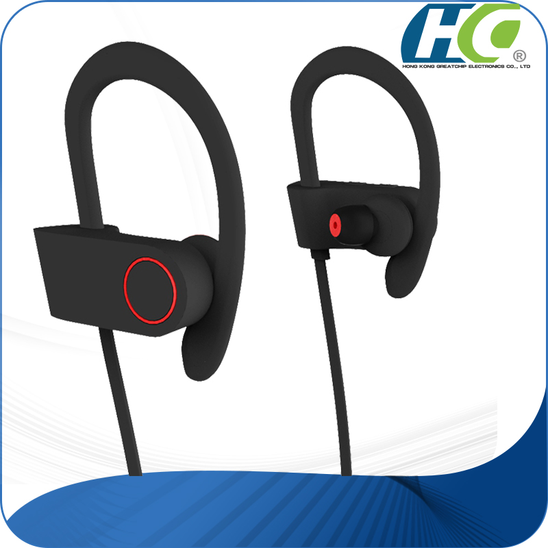 Bluetooth earbuds earhook 220 hours Standby time headphones