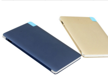 Factory Direct mobile portable credit card power bank 2600mah