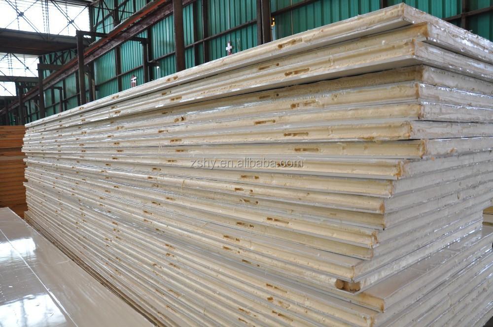Polyur thane panneau isolant pour chambre froide autres mat riaux d 39 isolation id de produit - Chambre froide isolation ...