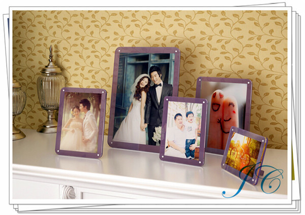 2015 Best Sale Fun Baby Clear Acrylic Photo Frame With Lower Price