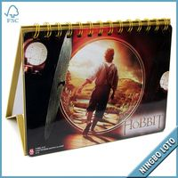 Factory direct supply 2013 design desk calendar