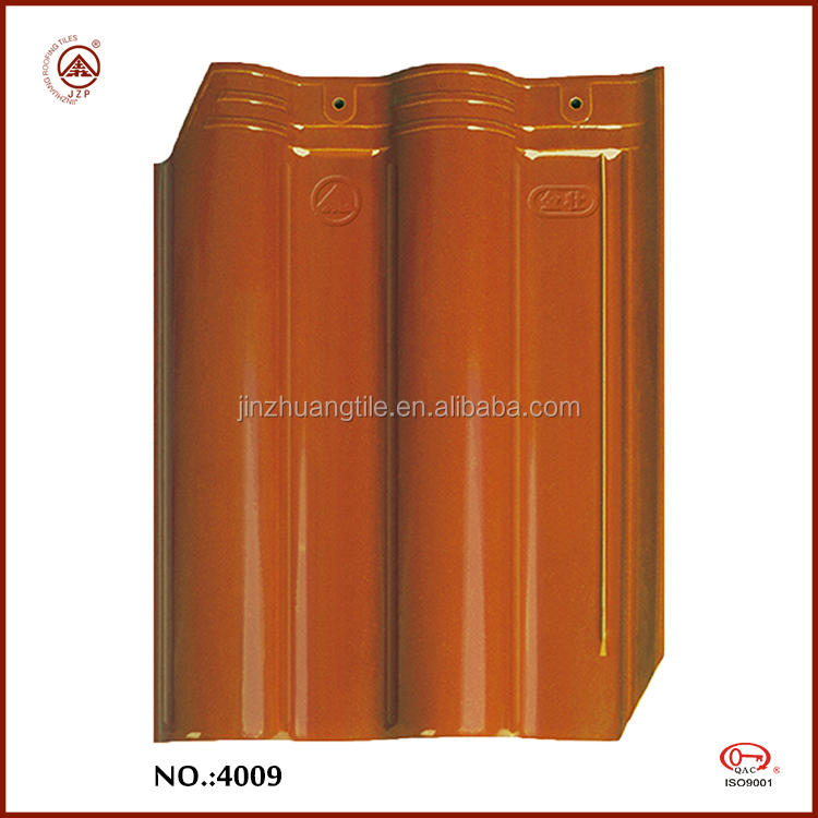 Whole sale Full Containers 310*400mm Ceramic Roofing Tiles Price