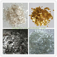 Mica Powder Golden White Color used for Fire Protection
