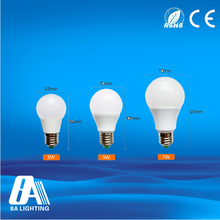 Led bulb parts plastic white housing e27 5w led bulb manufacturing machine