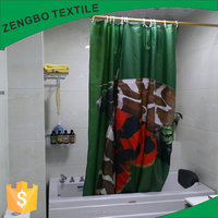 Digital Photo 3d Printing Shower Curtains