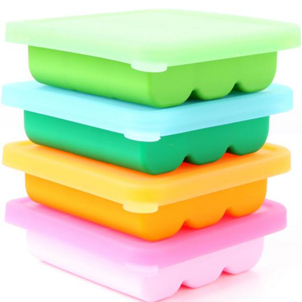 Eco friendly food grade silicone ice mold durable baking tools silicone mold