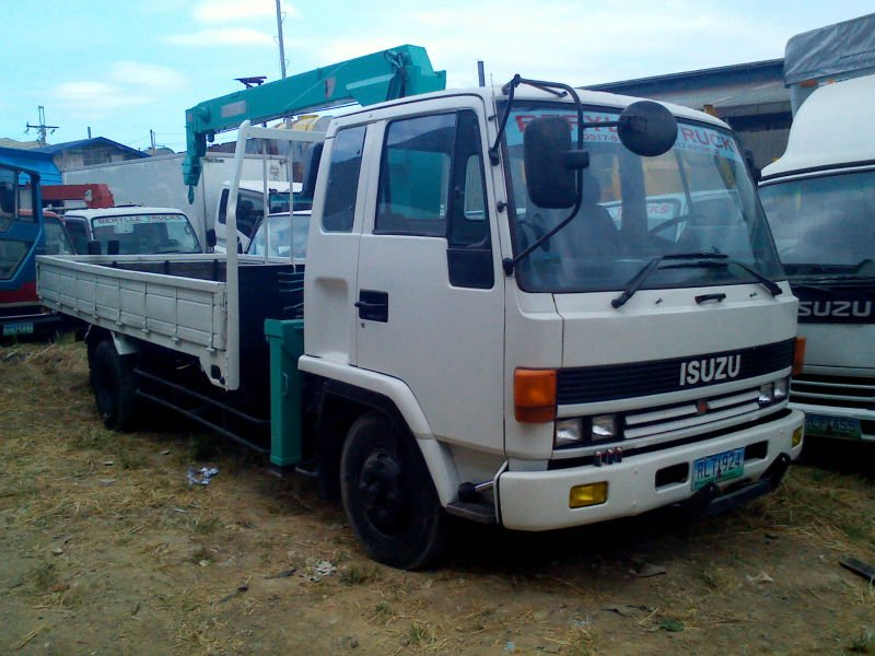 Trucks For Sale isuzu Forward Boom