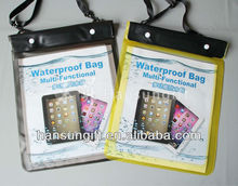 PVC waterproof beach bag for smartphone