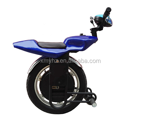 2018 new fashion light one wheel hoverboard unicycle