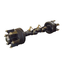 Truck front driving axles
