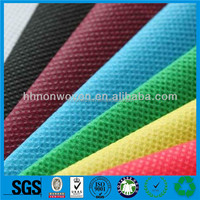 Hot sale Biodegradable environmental PP spunbond nonwoven fabric in huahao factory